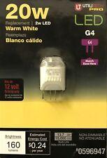 Utilitech 2-Watt 12-Volt / G4 Bi-Pin Landscape LED - 160 Lumens - NEW