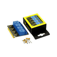 KEYESTUDIO 5V 4 Channel Relay Shield for Raspberry Pi Zero 3 4 Accessories
