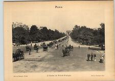 1922 Paris Photos Bois de Boulogne Avenue