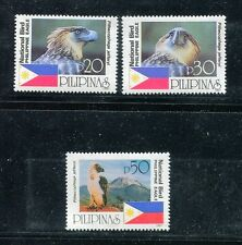Philippines 2506-2508,MNH. National Bird 1997:EAGLE.