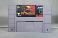 Mortal Kombat - Nintendo SNES Game Authentic