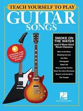 Teach Yourself To Play Guitar Songs: Smoke On The Water And 9 More Hard Rock Cla