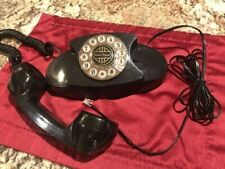 Retro Vintage Black Desk Telephone Paramount Electronics Landline TouchTone Prop