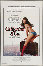 CATHERINE & CO ET COMPAGNIE one sheet movie poster 27x41 JANE BIRKIN  1975