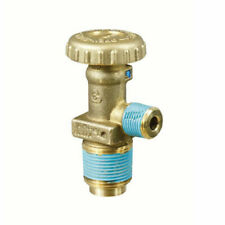 """New listing Cavagna 802064 Forklift Propane Tank Service Valve 3/8"""" Outlet 3/4"""" Inlet 2.6Gpm"""