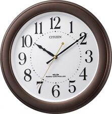 Citizen [Rhythm Watch] Wall Clock Analog Display Brown Metallic 8MY509-006 EMS