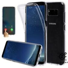 Samsung Galaxy S8+ S9+ Note 9 360° Case Cover Clear Gel Silicone Shockproof