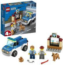 LEGO City L'Unité Cynophile De La Police Ensemble Jeu Enfant Voiture et Chien FR