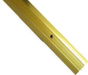CARPET METAL COVER GRIP STRIP DOOR PLATE BAR TRIM - THRESHOLD BRASS / GOLD 900MM