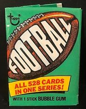 1974 Topps Football RARE  2 Card Fun WAX PACK Vintage FACTORY SEALED