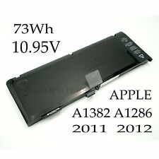 """Battery for Apple MacBook Pro Unibody 15 15"""" inch i7 A1382 A1286 Early 2011 2012"""