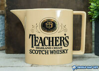 TEACHERS SCOTCH WHISKEY WATER JUG PUB PITCHER WADE POTTERY