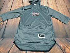 Mississippi State adidas Pullover Warm-Up 3/4 Sleeve  Hoodie Large Sweater