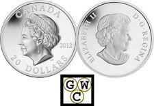 2012 High Relief 'Queen's Diamond Jubilee Portrait' $20 Silver .9999 Fine(12979)