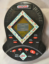 Monopoly Jackpot Electronic Handheld Slot Machine Game 1999 Hasbro LCD Works