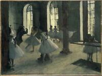Edgar Degas La R_p_tition Au Foyer De La Danse Giclee Paper Print Poster