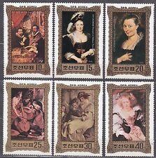 KOREA Pn. 1981 MNH** SC#2109/14 set, Reubens Paintings.