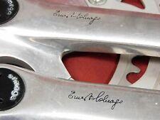 Ofmega Linea Ernesto Colnago Crank Set 52/42 x 170 x 130 mm BCD Dust Caps Bolts