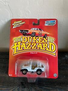 The Dukes of Hazzard Daisy's Jeep CJ-5 Johnny Lightning Hollywood on Wheels D17