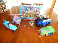Paw Patrol Lot - 4 Vehicles & 13 Action Figures!