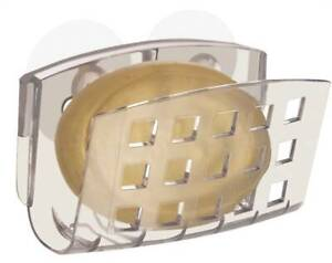 InterDesign Soap Dishes and Savers, Clear Plastic, Assorted Designs