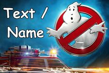 Ghostbusters Marshmallow Man eßbar Pie Cloth Cake Image Party Deco NEW DVD