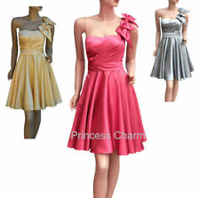 Knee Length Satin Hand-wash Only Dresses for Women