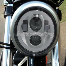 """5.75 5 3/4"""" Projector LED Round Headlight Lamp For Harley Sportster XL 883 1200"""
