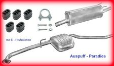 Auspuffanlage Abgasanlage Opel Omega B 2.0 & 2.0 16V Caravan /  Kombi  +Anbaukit