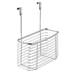 Interdesign #56370 Axis OTC X7 Chrome Cabinet Basket