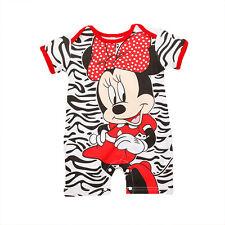 Newborn Baby Boys Girls Marvel Cartoon Romper Jumpsuit Bodysuit Clothes Outfit