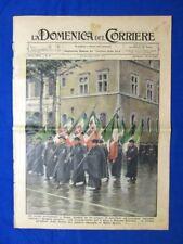 La Domenica del Corriere 23 gennaio 1938 Milite Ignoto Novara Acqua Oppio Mozart