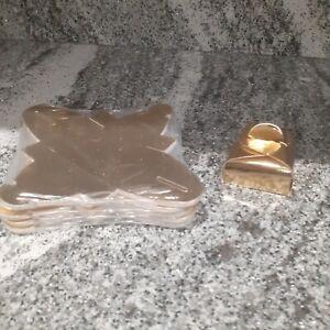 Job lot of DIY gift boxes mini astuccio 50 gold favour gift boxes