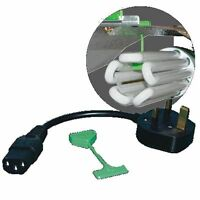 LUMii HID to CFL Converter Cable/Lead/Wire Hook - UK Plug - Lighting/Hydroponics