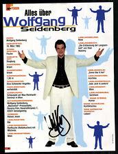 Wolfgang Seidenberg TOP Orig. Sign. u.a. Marienhof + G 7269
