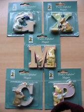 collectable/disney winnie the poohs fridge freezer magnets letters X P M C G