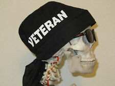 Veteran Skull Cap Do Rag with sweatband.  MADE IN USA!!!