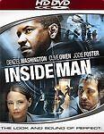 Inside Man [HD DVD] by Denzel Washington, Jodie Foster Brand New