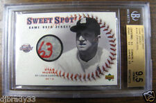 Stan Musial 2001 Upper Deck Game Used 1963 Jersey Graded 9.5