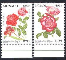 Monaco 1999 Flowers/Plants/Nature/Roses/Orchid 2v set (n38600)