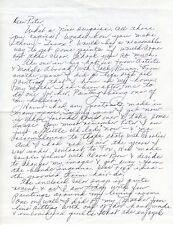 JOYCE COMPTON Vintage Original Photo with Griffins Dogs & RARE Autograph Letter