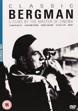 Classic Bergman Collection DVD Box Set - Region 2 PAL -5 DVDs