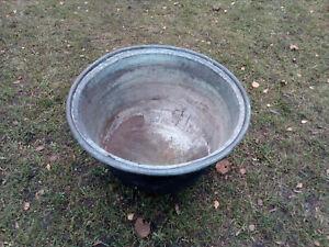 Waschkessel,Kupfer,Waschbottich,Kupferkessel,alt,Vintage