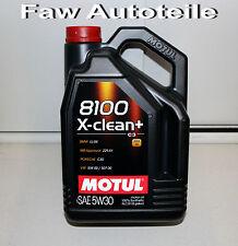 5 Liter Motul 106377 8100 X-clean+ C3 5W-30 Longlife-04 5W30 ACEA C3 MB 229.51