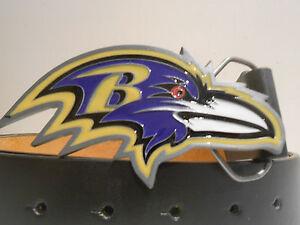 New Baltimore Ravens Team  Buckle w/Free Belt SM, MED, LG, OR XL