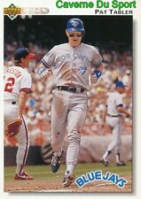 203 PAT TABLER TORONTO BLUE JAYS  BASEBALL CARD UPPER DECK 1992