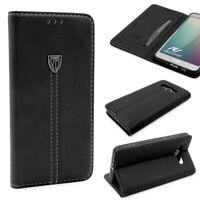 Samsung Galaxy J7 (2016) Schutz Hülle Wallet Case Flip Cover Kartenfach Schale