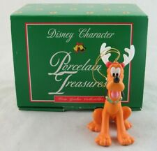 Grolier Porcelain Treasures Pluto Christmas Ornament in Box