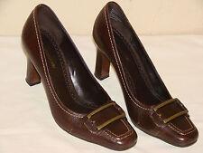 Naturalizer Belfonte Womens Brown Leather Pump Shoe - Size 7M