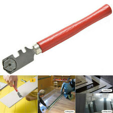 Tipped Glass Diamond Tile Cutter 6 Wheels Steel Ferrule Cutting Craft Hand Tool*